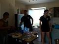 Fleißige Helfer in der Küche