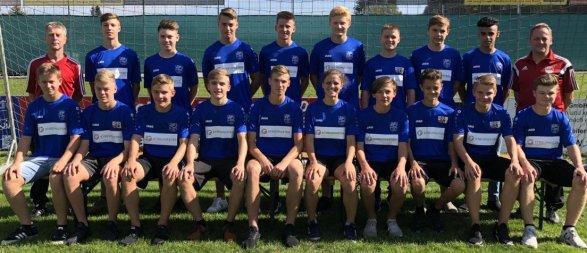 B-Jugend in der Saison 2018/19